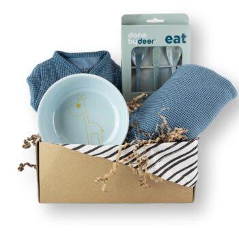 Cadeaubox dusty blue hip&mama box_