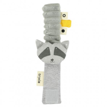 Trixie Armband rammelaar Mr. Raccoon