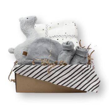 Cadeaubox happy grey