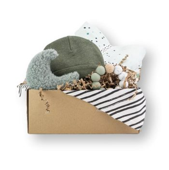 Cadeaubox khaki Hip&Mama Box