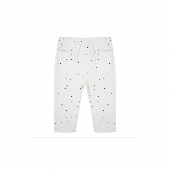 Little Indians Legging Dots Off-White