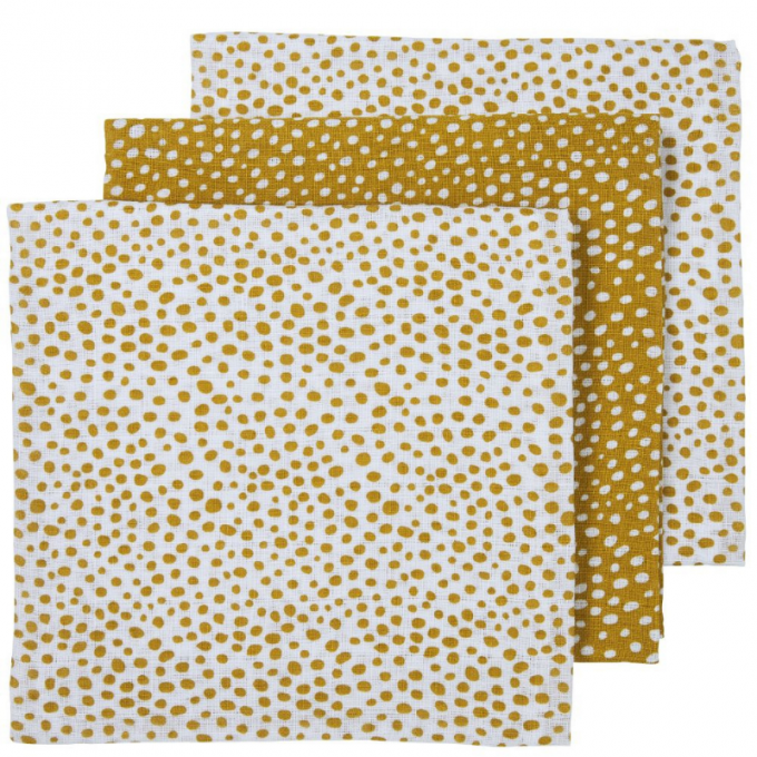 Hydrofiele doeken Cheetah Honey Gold
