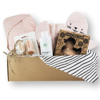 cadeaubox bath time hip&mama box