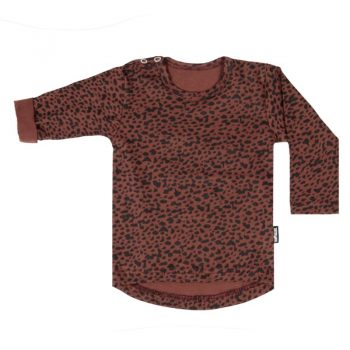 Rood shirt met stipjes vanpauline
