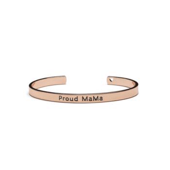 Proud Mama Armband Rosé