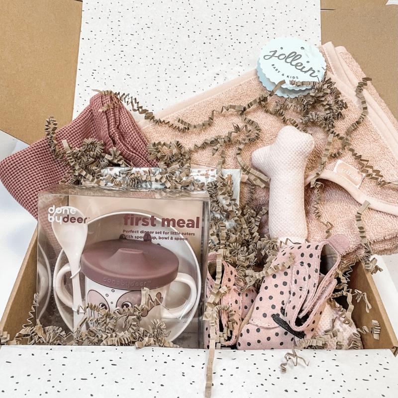 Cadeubox roze meisje