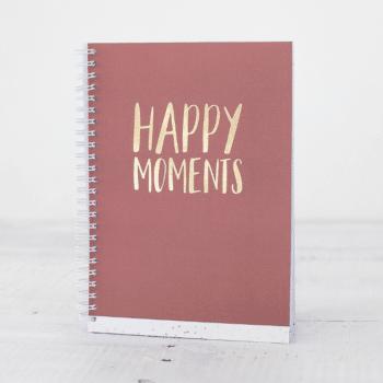 Happy moments goudfolie boekje