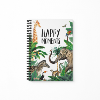 Jungle happy moments invulboek