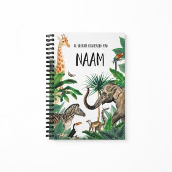 Uitsprakennboekje Jungle - met naam