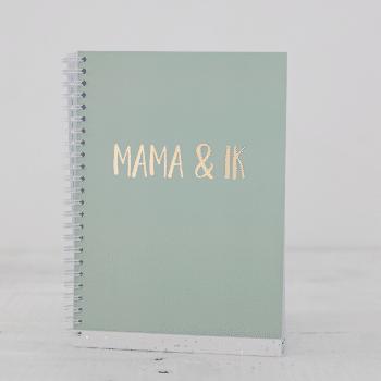 Invulboek Mama en ik groen