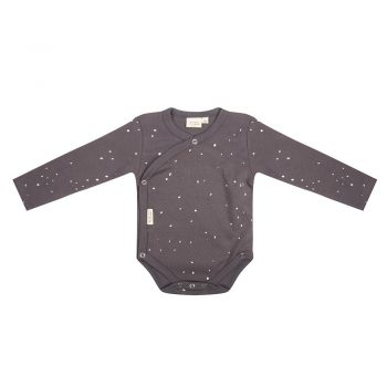 Little Indians Romper Lange Mouwen Dots Pavement achterkant