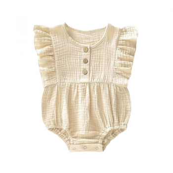 Litlle indians ruffle romper lexie to the moon muslin