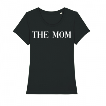 shirt the mom zwart
