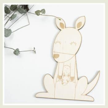 bord kangoeroe