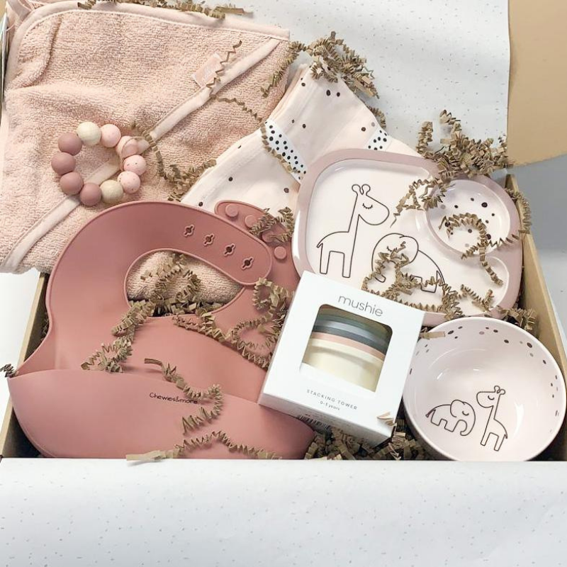 Kraamcadeau box Sweet Pink