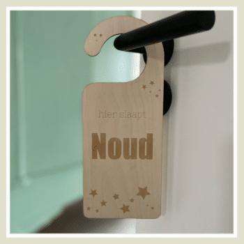 houten deurhanger sterren kleingrootgeluk