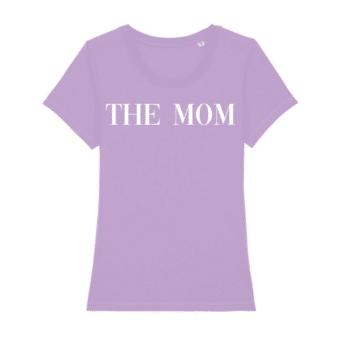 the mom shirt Lavender