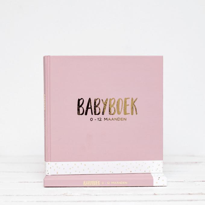 babyboek licht roze