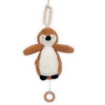Pinguïn muziekhanger Caramel Jollein