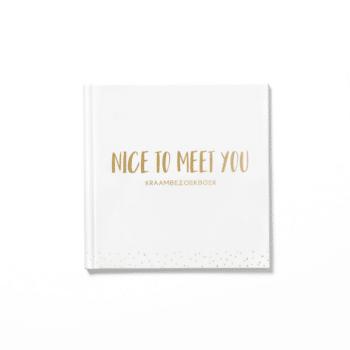 kraambezoekboek nice to meet you