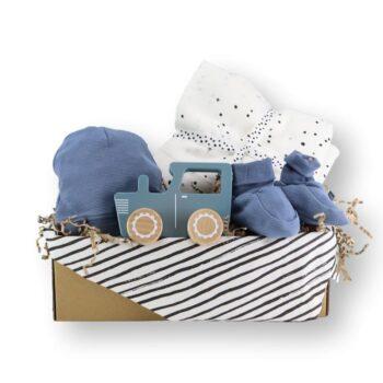 Lovely blue cadeaubox