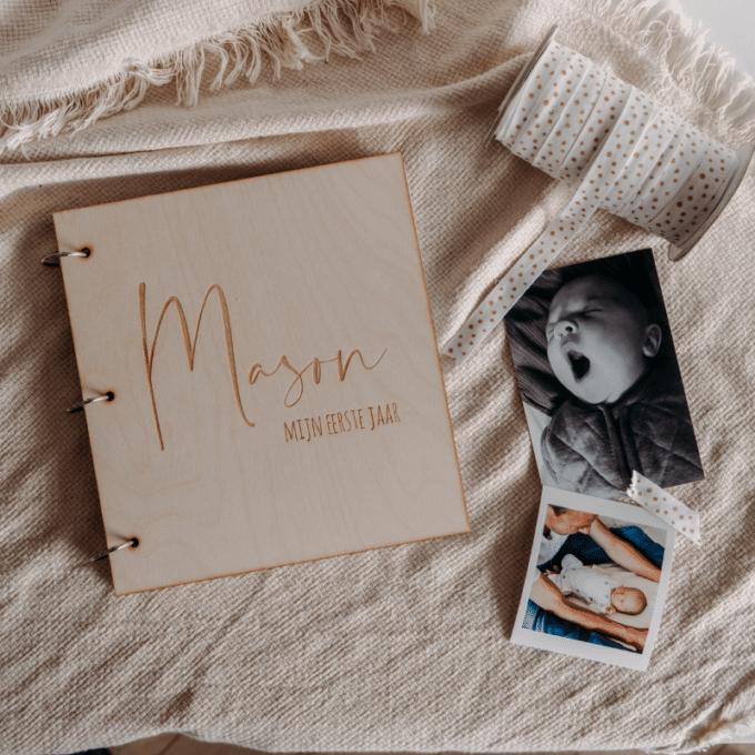 gepersonaliseerd babyboek mijn eerste jaar