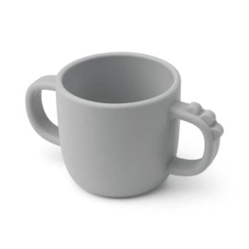 Peekaboo 2-handle cup Croco Grey