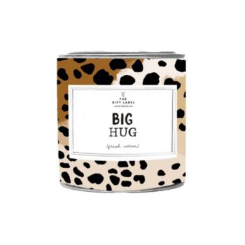 geurkaars groot big hug the gift label