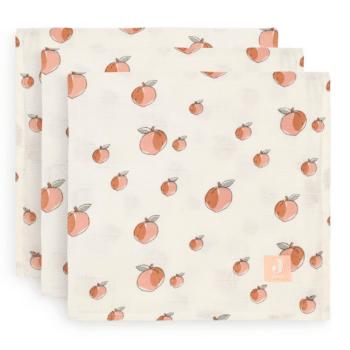 hydrofiele doeken peach 3 pack jollein