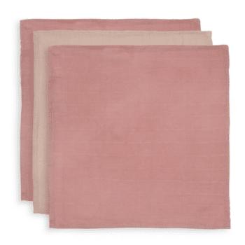 monddoekjes bamboo pale pink jollein