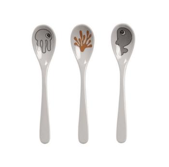 Spoon sea friends mustardgrey
