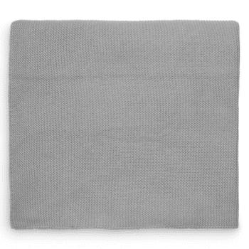 wiegdeken jollein stone grey 75x100