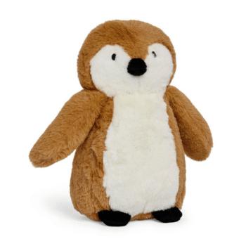 knuffel pinguin caramel jollein