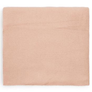 wiegdeken pale pink jollein 75x100