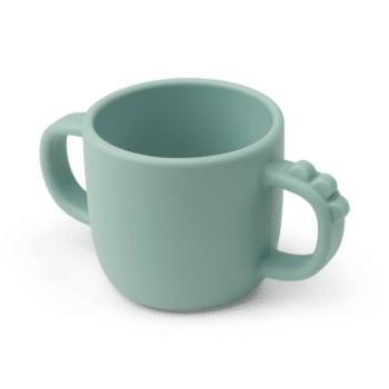 Peekaboo 2-handle cup Croco Blue